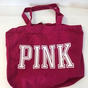 VS Pink Cotton Carry All